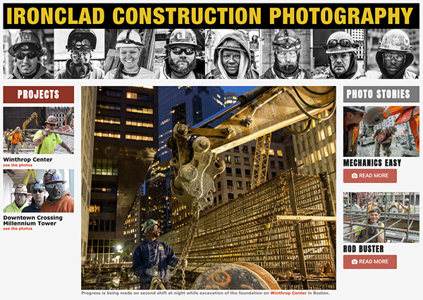 Ironclad Construction Photography